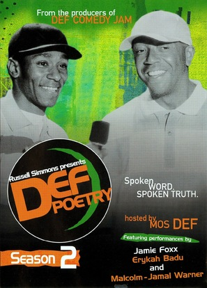 """Russell Simmons Presents Def Poetry"" - poster (thumbnail)"