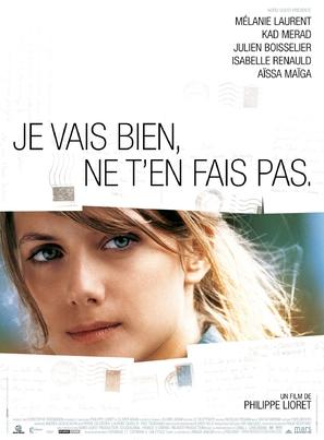 Je vais bien, ne t'en fais pas - French Movie Poster (thumbnail)
