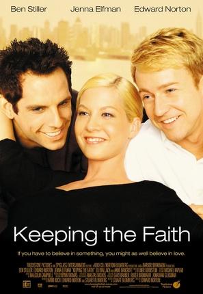 Keeping The Faith - Movie Poster (thumbnail)