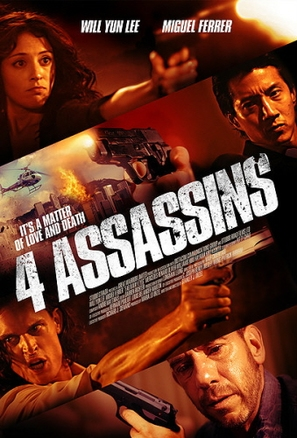 Four Assassins - Movie Poster (thumbnail)