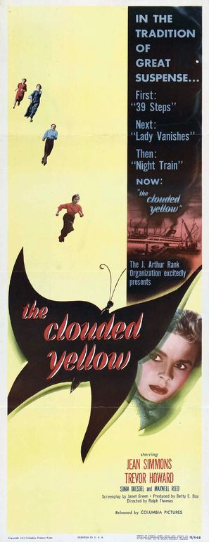 The Clouded Yellow - British Movie Poster (thumbnail)