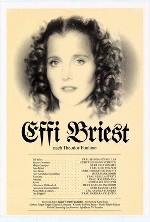Effi Briest - German Movie Poster (thumbnail)