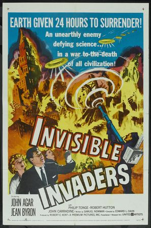 Invisible Invaders - Movie Poster (thumbnail)