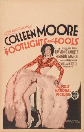 Footlights and Fools - Movie Poster (thumbnail)