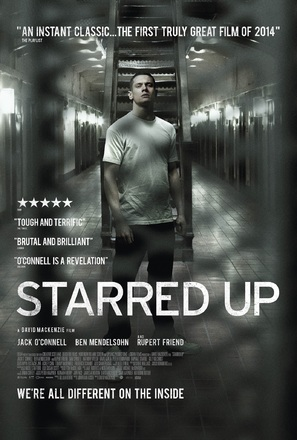 Starred Up - British Movie Poster (thumbnail)