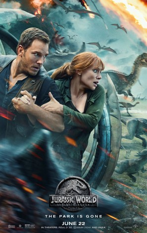 Jurassic World Fallen Kingdom - Movie Poster (thumbnail)