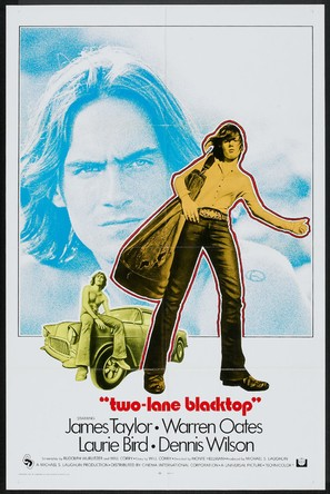 Two-Lane Blacktop - Movie Poster (thumbnail)