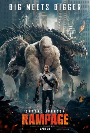 Rampage 2018 Movie Posters
