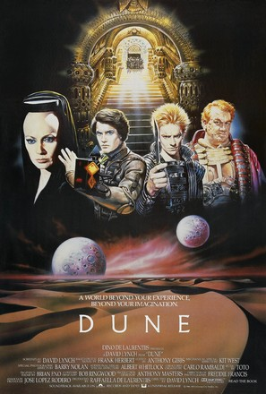 Dune - British Movie Poster (thumbnail)