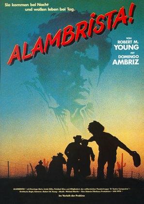 Alambrista! - German Movie Poster (thumbnail)