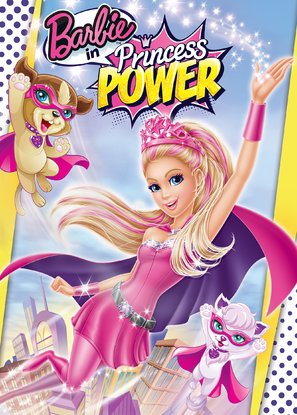 Barbie in Princess Power - DVD cover (thumbnail)