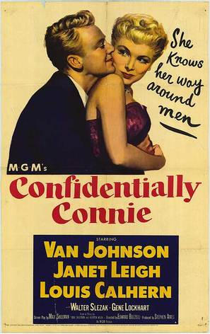 Confidentially Connie - Movie Poster (thumbnail)