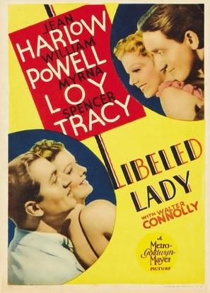 Libeled Lady - Movie Poster (thumbnail)