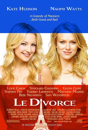 Divorce, Le - Movie Poster (thumbnail)
