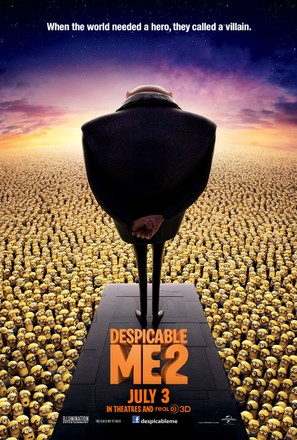 Despicable Me 2 - Movie Poster (thumbnail)