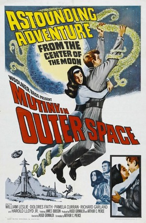 Mutiny in Outer Space - Movie Poster (thumbnail)
