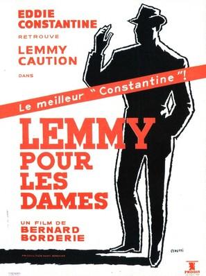 Lemmy pour les dames - French Movie Poster (thumbnail)