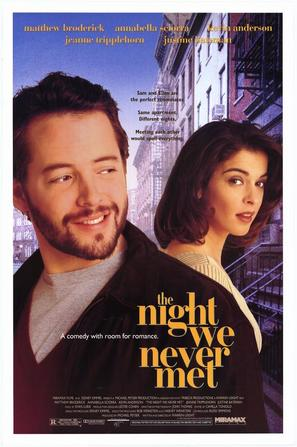 The Night We Never Met - Movie Poster (thumbnail)