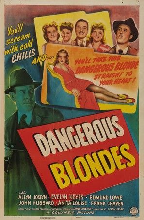 Dangerous Blondes - Movie Poster (thumbnail)