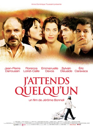 J'attends quelqu'un - French Movie Poster (thumbnail)