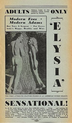 Elysia, Valley of the Nude - Movie Poster (thumbnail)