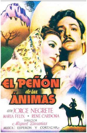 El peñón de las Ánimas - Spanish Movie Poster (thumbnail)