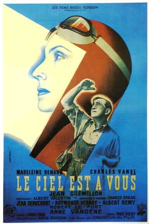 Ciel est à vous, Le - French Movie Poster (thumbnail)