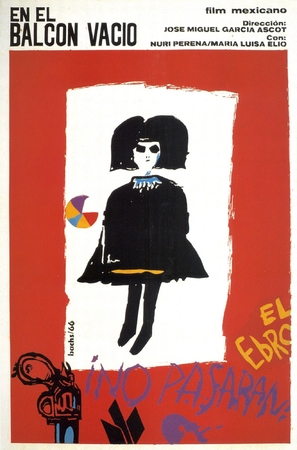 En el balcón vacío - Mexican Movie Poster (thumbnail)