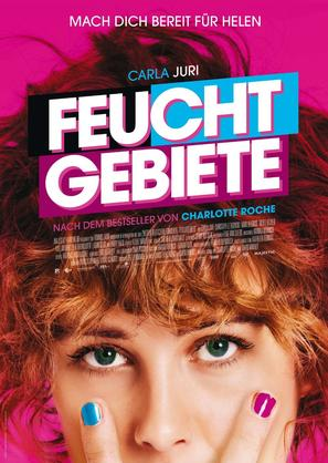 Feuchtgebiete - German Movie Poster (thumbnail)