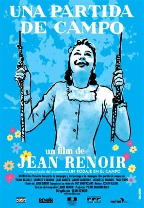 Partie de campagne - Spanish Movie Poster (thumbnail)