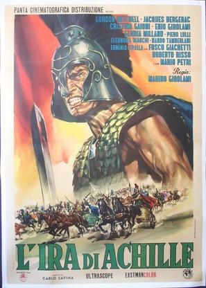 L'ira di Achille - Italian Movie Poster (thumbnail)