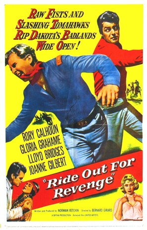 Ride Out for Revenge - Movie Poster (thumbnail)
