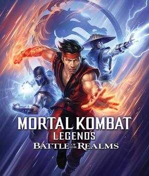 Mortal Kombat Legends: Battle of the Realms - Movie Cover (thumbnail)