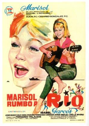 Marisol rumbo a Río - Spanish Movie Poster (thumbnail)