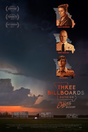 Three Billboards Outside Ebbing, Missouri - Movie Poster (thumbnail)