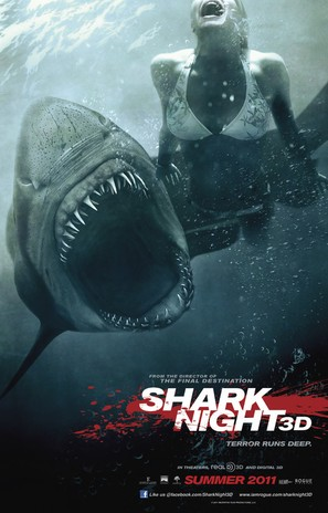 Shark Night 3D - Movie Poster (thumbnail)