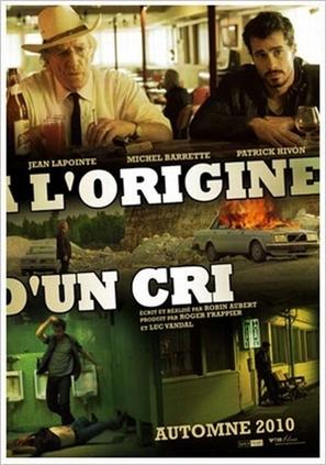 À l'origine d'un cri - Canadian Movie Poster (thumbnail)