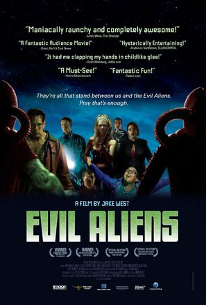 Evil Aliens - Movie Poster (thumbnail)