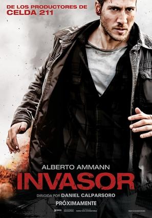 Invasor - Spanish Movie Poster (thumbnail)