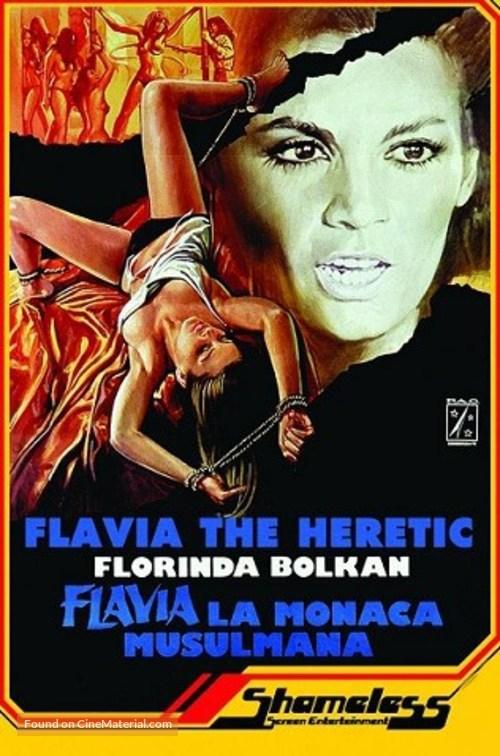 Flavia, la monaca musulmana - British DVD cover