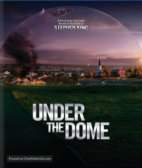 """Under the Dome"" - Blu-Ray cover"