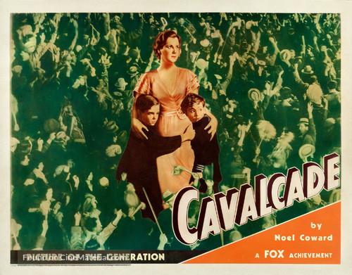 Cavalcade 1933 Noel Coward vintage movie poster
