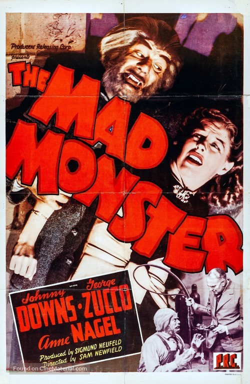 The Mad Monster - Movie Poster