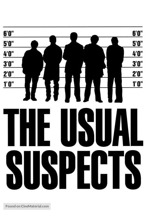 The Usual Suspects - Movie Poster