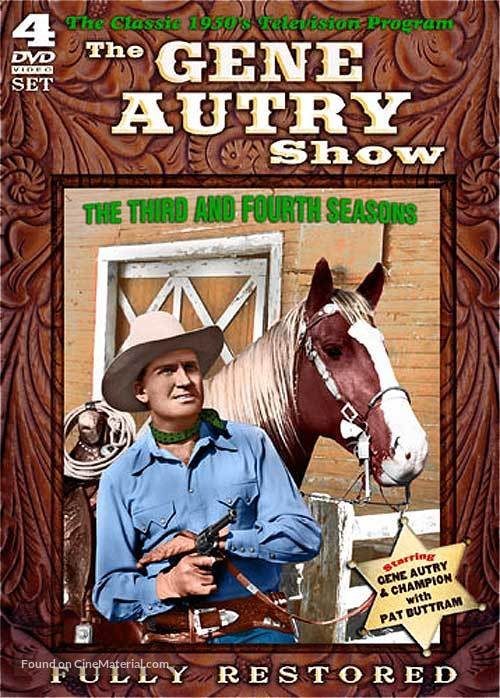 """The Gene Autry Show"" - DVD cover"