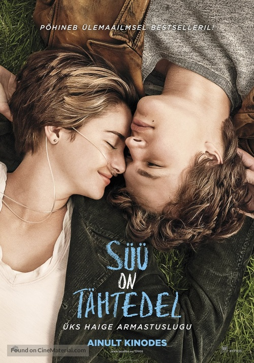 The Fault in Our Stars - Estonian Movie Poster