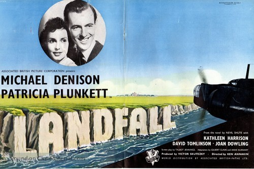 Landfall - British Movie Poster