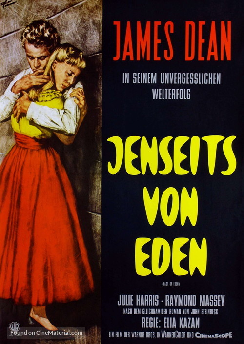 East of Eden - German Movie Poster