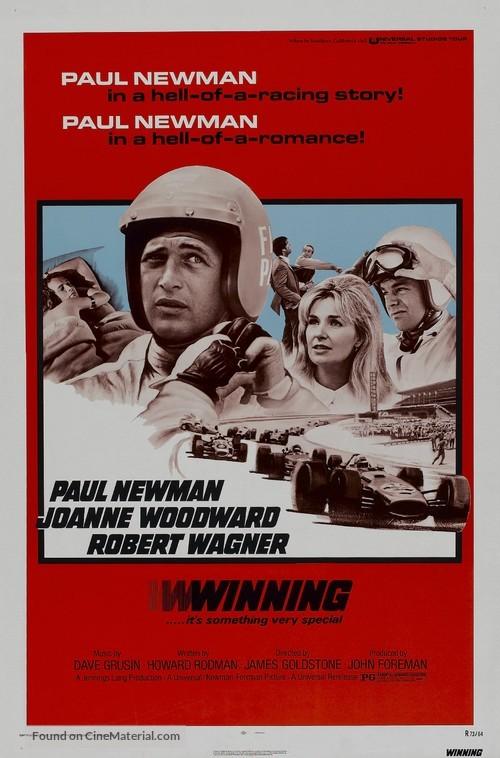 Winning - Movie Poster