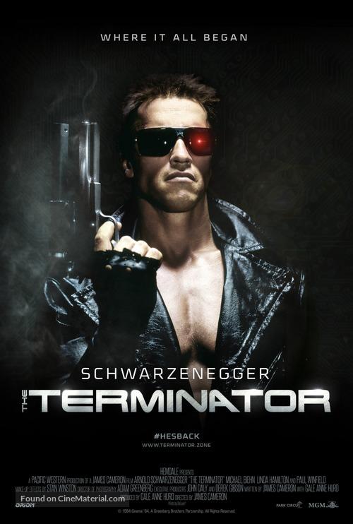 The Terminator - British Movie Poster